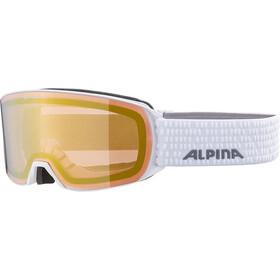 Alpina Alpina Nakiska QVM Goggles, white